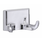 Taymor Sunglow Double Robe Hook - Chrome