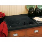 "GE Black 21"" Built-In Radiant Cooktop"