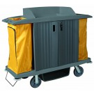 Large Housekeeping Cart w/Doors