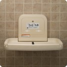 Koala Kare Horizontal Wall Mounted Baby Changing Station
