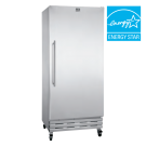 Kelvinator Commercial 18 Cu. Ft. Reach-In Refrigerator - Stainless Steel