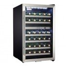 Danby 38 Bottle Dual Zone Wine Cooler - Black w/Stainless