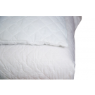 "Fitted Quilted Mattress Pads w/15"" Skirt"