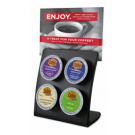 Hotel Room 4-Hole K-Cup Holder - Black