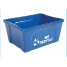 Deskside Low Profile Recycling Bin