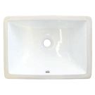 Pearl Undermount Square Vanity Sink