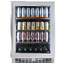 "Silhouette Professional Saxony 24"" Single Zone Beverage Centre - Stainless"